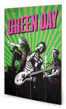 Green Day - Uno! Dos! Tre! Wood Sign Wood Sign