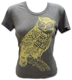 Juniors: Maps & Atlases - Owl (Tri-Blend) T-Shirt