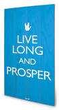 Star Trek – Live Long And Prosper Wood Sign Holzschild