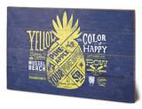 Spongebob - Yellow Pineapple Wood Sign Wood Sign