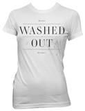 Juniors: Washed Out - White Within and Without T-Shirt