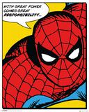 Marvel Classic- Spider-Man (Quote) Plakat