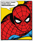 Marvel Classic- Spider-Man (Quote) Poster