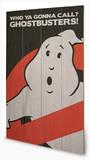 Ghostbusters - Logo Wood Sign Panneau en bois