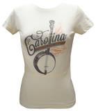 Women's: Carolina Chocolate Drops - Banjo Camisetas