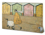 Sam Toft Along The Prom Wood Sign Wood Sign