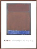 Untitled, 1968 Print by Mark Rothko