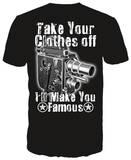 Camera Frame Shirts by Daveed Benito