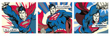 Superman (Pop Art Triptych) Poster