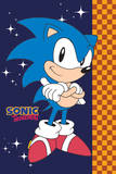 Sonic The Hedgehog (Stars) Prints