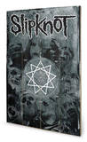 Slipknot - Pentagram Wood Sign Wood Sign