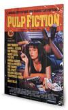 Pulp Fiction - Cover Wood Wood Sign Panneau en bois