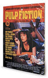 Pulp Fiction - Cover Wood Wood Sign