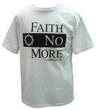 Faith No More - Classic Logo V2 White T-shirts