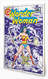 DC Comics - Wonder Woman Body Snatcher From Space Wood Sign Cartel de madera
