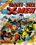 Marvel Classic- X-Men Cover Prints