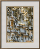 Corkscrew Collection, Vienna, Austria Framed Photographic Print by Walter Bibikow