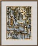 Corkscrew Collection, Vienna, Austria Framed Photographic Print by Walter Bibikow