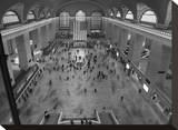 Grand Central Station Interior Stretched Canvas Print by Christopher Bliss