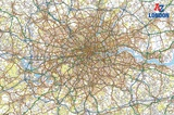 A - Z London Map Stampa