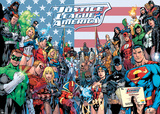 The Justice League- Welcome To The League Reprodukcje
