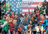DC Comics (The Justice League Classic Group) Kunstdrucke