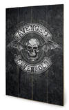 Avenged Sevenfold - Death Bat Wood Sign Panneau en bois