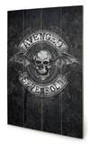 Avenged Sevenfold - Death Bat Wood Sign Holzschild