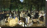 Music in the Tuileries, 1862 Stretched Canvas Print by Édouard Manet