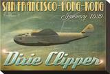 Dixie Clipper Stretched Canvas Print by Carlos Casamayor