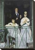 The Balcony, 1868 Stretched Canvas Print by Édouard Manet