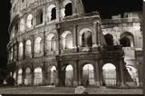 Coliseo Reproducción en lienzo de la lámina por Christopher Bliss