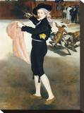 Mlle Victorine Meurent in the Costume of an Espada, 1862 Stretched Canvas Print by Édouard Manet
