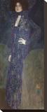Portrait of Emilie Flöge, 1902 Reproducción en lienzo de la lámina por Gustav Klimt