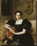 Elizabeth Winthrop Chanler (Mrs. John Jay Chapman), 1893 Stretched Canvas Print by John Singer Sargent