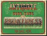 Dr. Zane's Antidote, c. 1864 Stretched Canvas Print