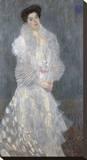 Portrait of Hermine Gallia, 1904 Reproducción en lienzo de la lámina por Gustav Klimt