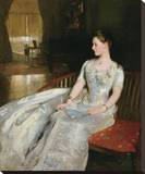 Mrs. Cecil Wade, 1886 Stretched Canvas Print by John Singer Sargent