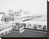 Steeplechase Pier, Atlantic City, NJ, c. 1905 Stretched Canvas Print