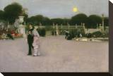 In the Luxembourg Gardens, 1879 Stretched Canvas Print by John Singer Sargent