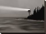 Lighthouse 2 Stretched Canvas Print by James McLoughlin