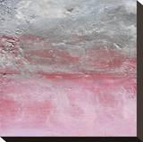 Swept Seas II Stretched Canvas Print by Gabriella Lewenz