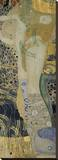 Water Serpents I, ca. 1904-1907 Stretched Canvas Print by Gustav Klimt