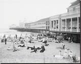 Steel Pier, Atlantic City, NJ, c. 1904 Leinwand