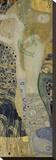 Water Serpents I, ca. 1904-1907 Opspændt lærredstryk af Gustav Klimt