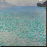 Attersee, 1900 Stretched Canvas Print by Gustav Klimt