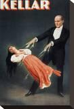 Kellar: Levitation Stretched Canvas Print