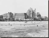 Hotels, Atlantic City, NJ Leinwand