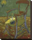 Gauguin's Chair, 1888 Stretched Canvas Print by Vincent van Gogh