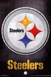 Pittsburgh Steelers Logo NFL Sports Poster Prints